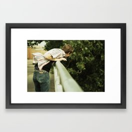 Fish Out of Water  Framed Art Print