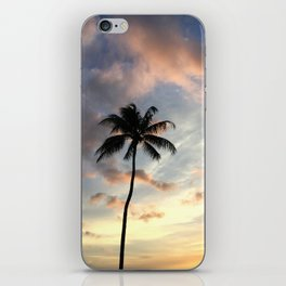 Lonely Hawaiian Palm Tree iPhone Skin
