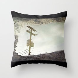 Powerlines Throw Pillow