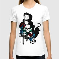 captain hook T-shirts featuring Shadows The Captain Hook by Mad42Sam