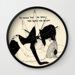 Alright,Alright (LOVE SERIES) Wall Clock