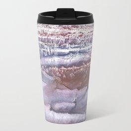 Violet brown hand-drawn wash drawing Travel Mug