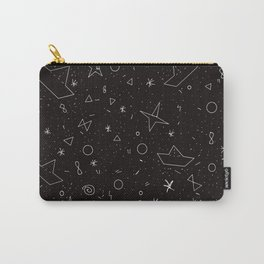 Paper boats pattern Carry-All Pouch