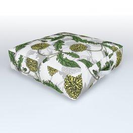 dandelion riot Outdoor Floor Cushion
