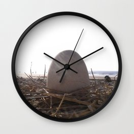 Patience Egg Wall Clock