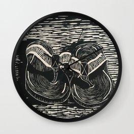 Sole Mates Wall Clock