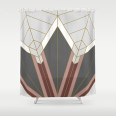 ART DECO G1 (abstract) Shower Curtain