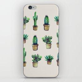 cactus collab franciscomff iPhone Skin