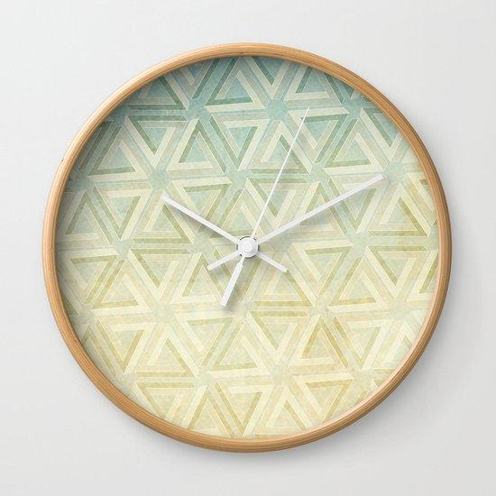 escher pattern Wall Clock