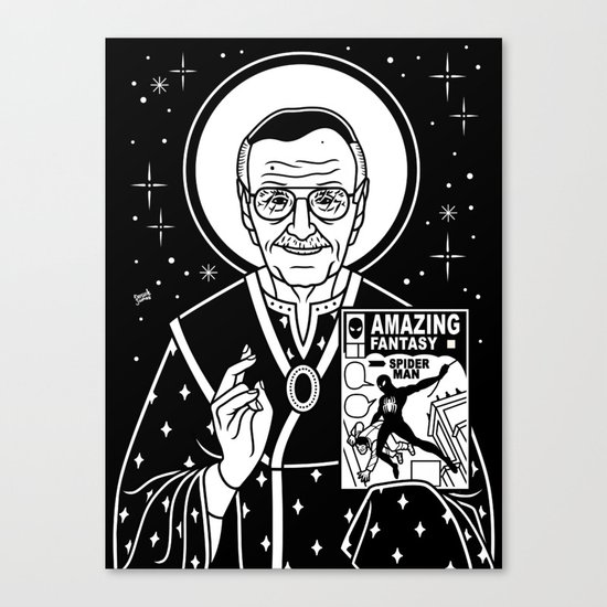 Stan Jesus Lee Canvas Print
