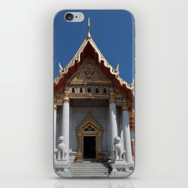 Buddhist temple Bangkok iPhone Skin