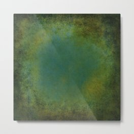 Shades of Green Texture Metal Print