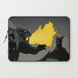 Gamera vs. Gyaos Laptop Sleeve
