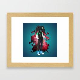 BRAINWAVES: LET'S PLAY Framed Art Print