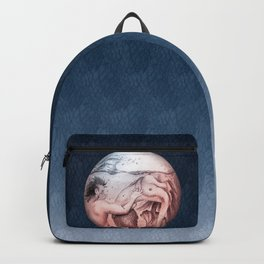 Trapped In This Idea - Navy Backpack