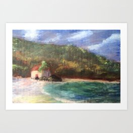 Cinnamon Bay at Sunrise Art Print