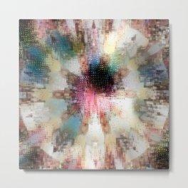 Colordrop Mandala 5 Metal Print