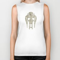 general Biker Tanks featuring General Grievous by Some_Designs