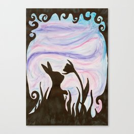 Twighlight Bite Canvas Print
