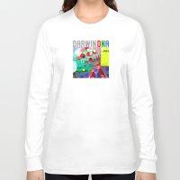 darwin Long Sleeve T-shirts featuring DARWIN DNA by DARWIN STEAD