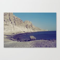 Eros Beach Canvas Print