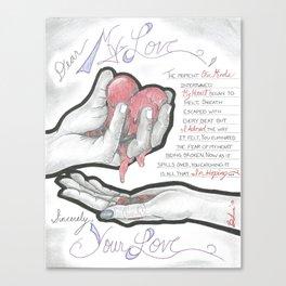 Love's Hopes Canvas Print