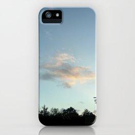 Nature, landscape and twilight 6 iPhone Case
