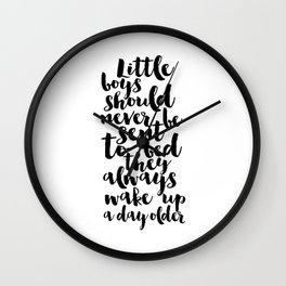 Printable Poster,nursery poster, Quote,Nursery Decor,Kids Room Decor,Children,Kids Gift,Quote Prints Wall Clock