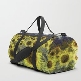Sunflower Fields Of Dreams Art Duffle Bag