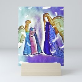 Angels In Training Mini Art Print