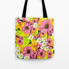 Daisy Glow Tote Bag