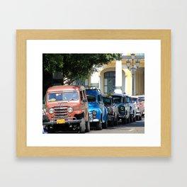 Havana 21 Framed Art Print