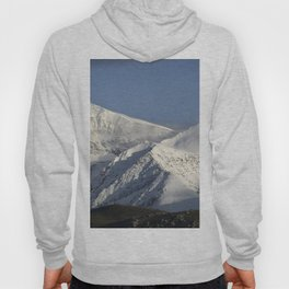 Hight snowy mountains. 3489 meters Hoody