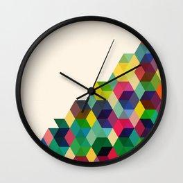 Hexagonzo Wall Clock