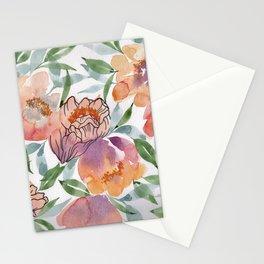 Orange Deep Stationery Cards