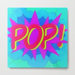 POP Art Electrified! Metal Print