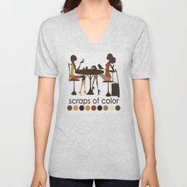 Scraps of Color Limited Edition T-shirt Unisex V-Neck