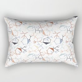Chaotic Particle Physics on White Rectangular Pillow