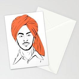 Bhagat Singh #IpledgeOrange Stationery Cards