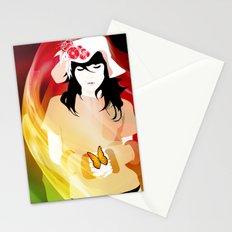 L'illusion de l'amour Stationery Cards