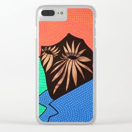 Roy Meat Clear iPhone Case
