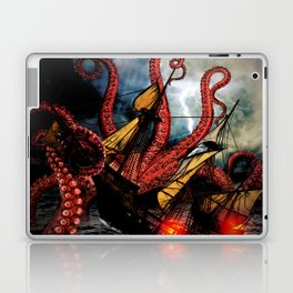 In the Grasp of the Storm Laptop & iPad Skin
