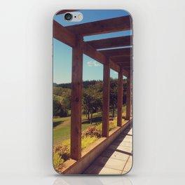 The Vineyard iPhone Skin
