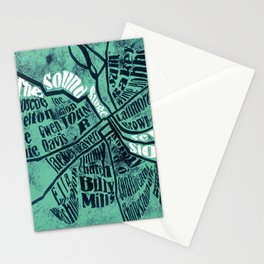 All in one place Stationery Cards