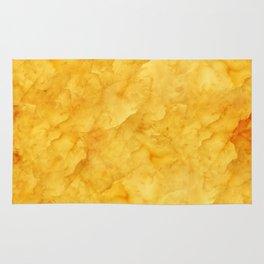 Golden amber texture Rug