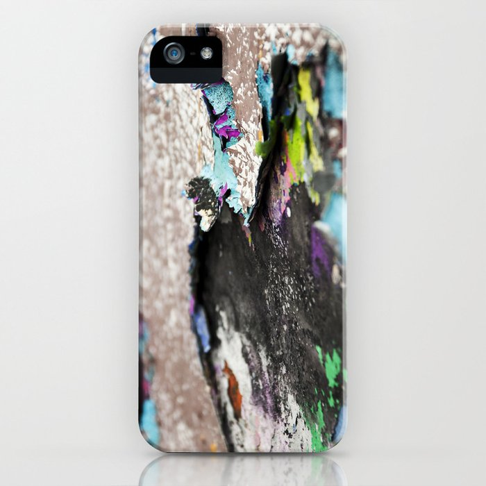 Old graffiti iPhone Case