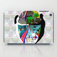 korea iPad Cases featuring A trip to Korea  by doctusdesign