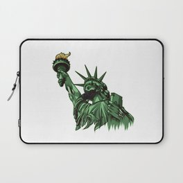 Rotting Statue of Liberty | Anti Government Laptop Sleeve