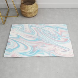 Trippy Abstract Rug