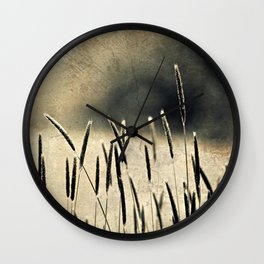 Afternoon Glow Wall Clock